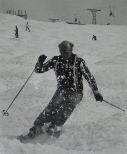 Les skiing
