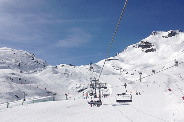Runs not to be missed in Meribel