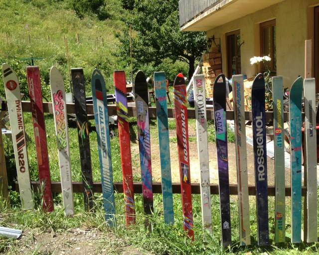 Ski Fence